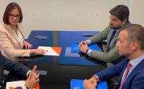 Integrantes de PP y Ciudadanos en la Región de Murcia (Foto: @PPRMurcia)