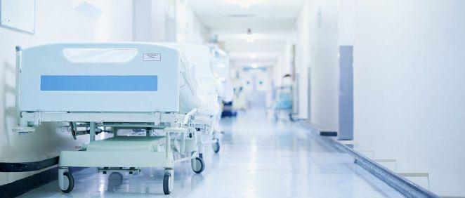 Pasillo de un centro hospitalario. (Foto. Xunta de Galicia)