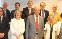 Nuevos miembros del Comisión Central de Deontología (Foto. CGCOM)