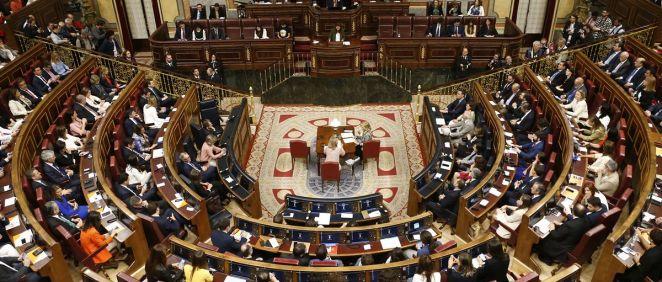 Sesión constitutiva de la XIII Legislatura. (Foto: Congreso de los Diputados).