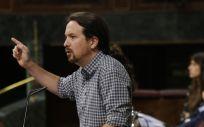 Pablo Iglesias, líder de Unidas Podemos. (Foto. Congreso de los Diputados)