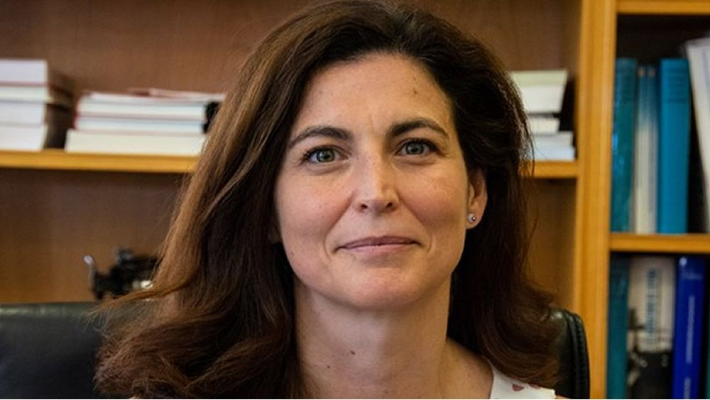 Raquel Yotti, directora del Instituto de Salud Carlos III. (Foto. Ciber ISCIII)