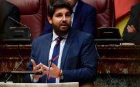 Fernando López Miras, presidente del Gobierno de la Región de Murcia (Foto. Twitter PPMurcia)
