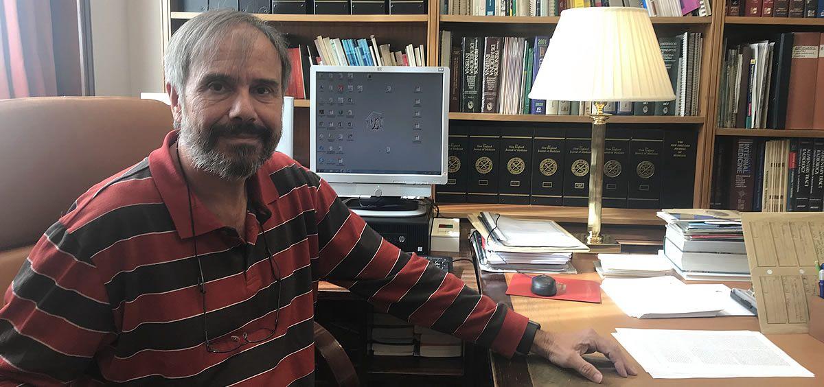 Pedro Górgolas, médico del Congreso de los Diputados. (Foto. ConSalud)