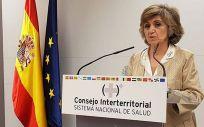 Ministra de Sanidad, Consumo y Bienestar Social en funciones, María Luisa Carcedo. (Foto. ConSalud)