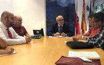Un momento de la reunión (Foto. Oficina de Comunicación)