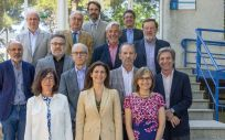 Foto de familia de la reunión del Ciber (Foto. Gobierno de España)