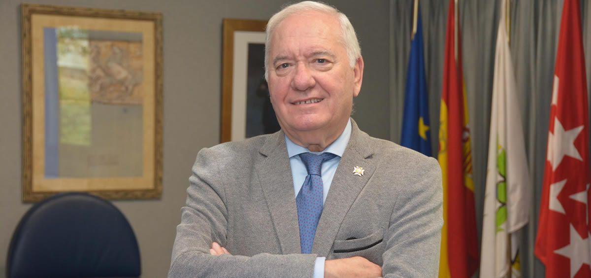 Florentino Pérez Raya, presidente del Consejo General de Enfermería (Foto. ConSalud)