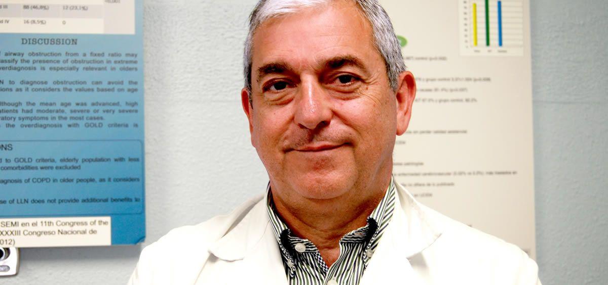 Javier de la Fuente, jefe de servicio de Medicina Interna de Povisa (Foto. ConSalud)