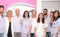 Miembros del Hospital La Fe (Foto. Comunidad Valenciana)