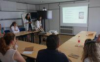 Escuela de salud sobre dermatitis atópica (Foto. Sescam)