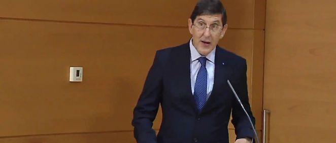 Manuel Villegas, consejero de Salud de la Región de Murcia. (Foto.CARM).