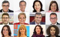 Representantes de la Comisión de Sanidad en el Congreso y Senado (Foto. Fotomontaje ConSalud.es)