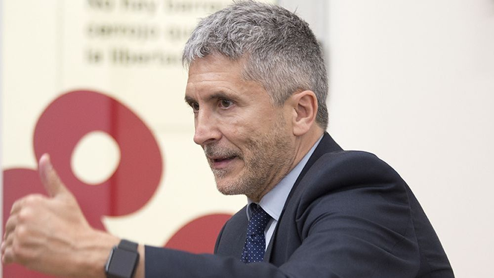 Fernando Grande Marlaska, ministro del Interior (Foto. flickr PSOE)