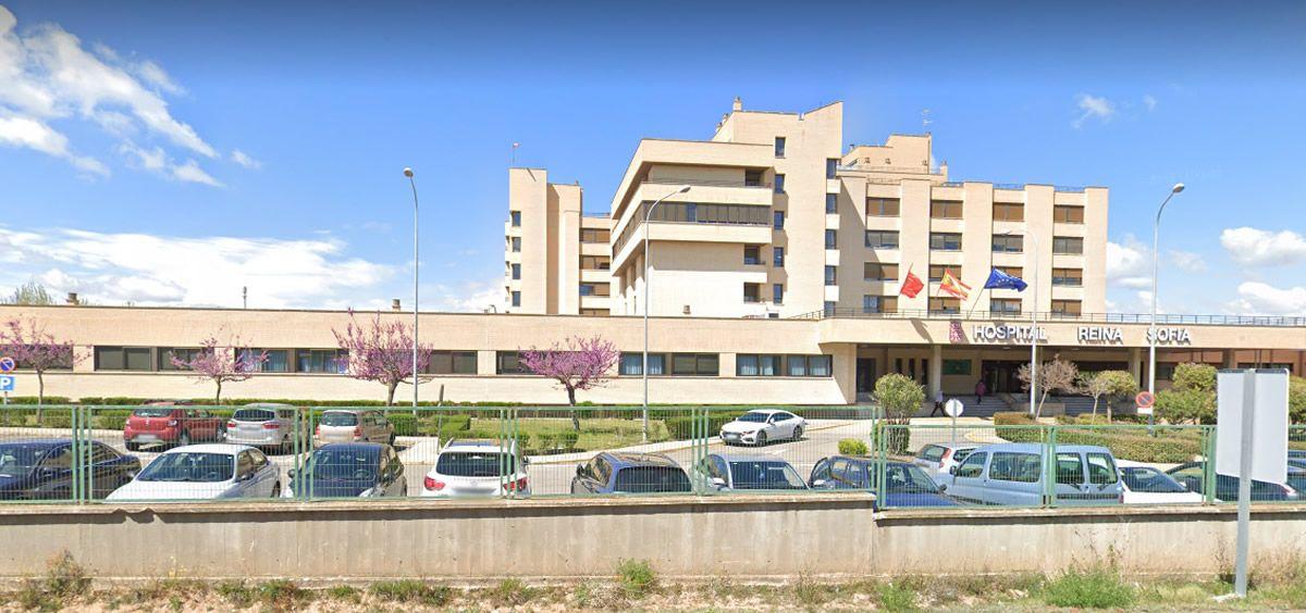 Fachada del Hospital Reina Sofía (Foto. Google Maps)