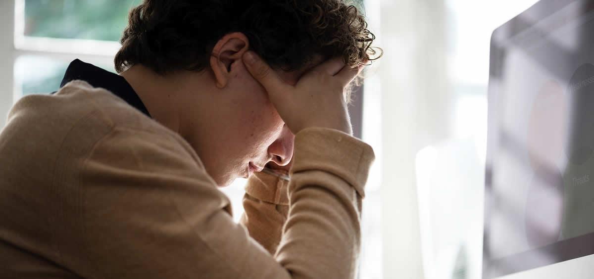 Paciente con estrés. (Foto. Rawpixel)