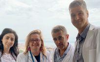 Investigadores del estudio (Foto. Gobierno de Cantabria)