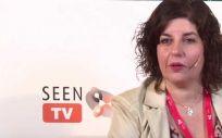 María Ballesteros, coordinadora del Área de Nutrición de la SEEN (Foto. YoutubeSEEN)