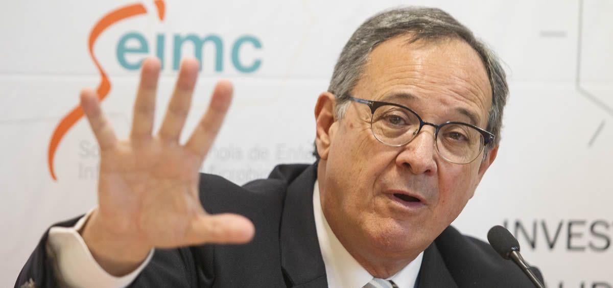 Jordi Vila, presidente de la Sociedad Española de Enfermedades Infecciosas y Microbiología (Seimc). (Foto. Seimc)