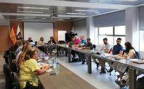 Mesa sectorial en Canarias (Foto. Gobierno de Canarias)