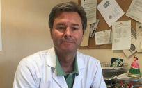 Jesús Rodríguez Baño, uno de los investigadores (Foto. Junta de Andalucía)