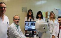 Servicio de Oftalmología del Hospital Clínico (Foto. Comunidad Valenciana)