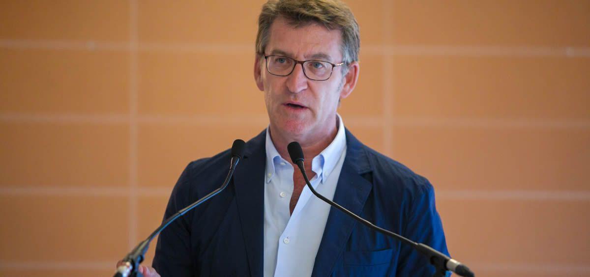 El presidente de la Xunta de Galicia, Alberto Núñez Feijóo (Foto. Xunta)