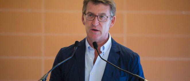 El presidente de la Xunta de Galicia, Alberto Núñez Feijóo (Foto. La Xunta)