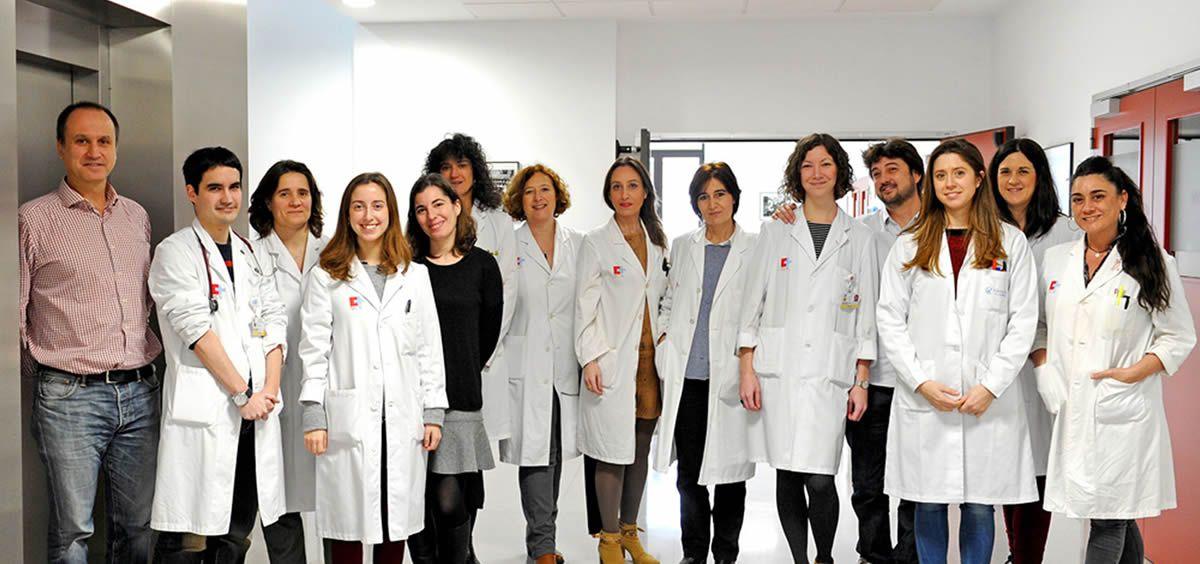 Miembros del Hospital Universitario Marqués de Valdecilla (Foto. Gobierno de Cantabria)