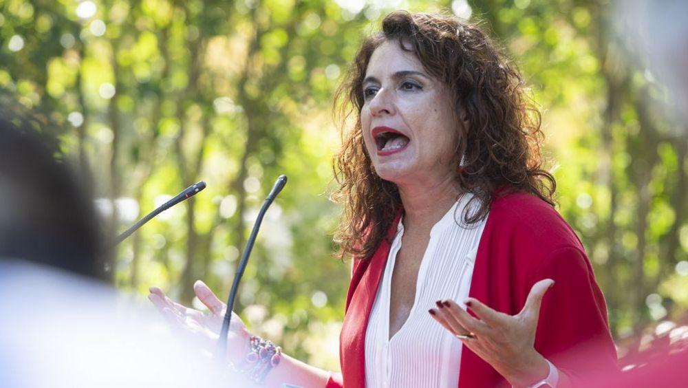 María Jesús Montero, ministra de Hacienda en funciones (Foto: Flickr PSOE).