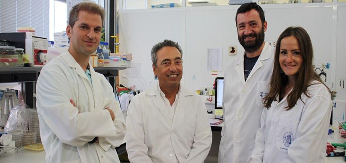 Investigadores de la vacuna (Foto. Ciberes)