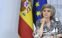 La titular en funciones del Ministerio de Sanidad, Consumo y Bienestar Social, María Luisa Carcedo (Foto. Gobierno de España)