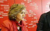 María Luisa Carcedo y Pedro Sánchez (Foto: Flickr PSOE)