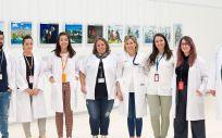 Miembros del Hospital Nacional de Parapléjicos de Toledo (Foto. Sescam)