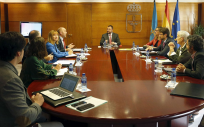 Imagen del Consejo de Gobierno del Principado de Asturias (Foto: @GobAsturias)