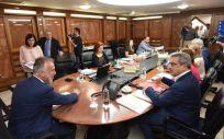 Ángel Víctor Torres ha presidido este miércoles el Consejo de Gobierno de Canarias. (Foto: Twitter Gobierno de Canarias)