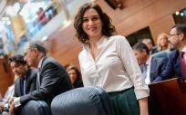 Isabel Díaz Ayuso, presidenta de la Comunidad de Madrid (Foto. PP de Madrid)
