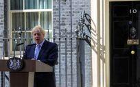 Boris Johnson, primer ministro británico (Foto: @BorisJohnson)