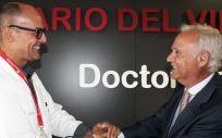 Rafael Carrasco y Ramón Navarro (Foto: Hospital Universitario del Vinalopó).