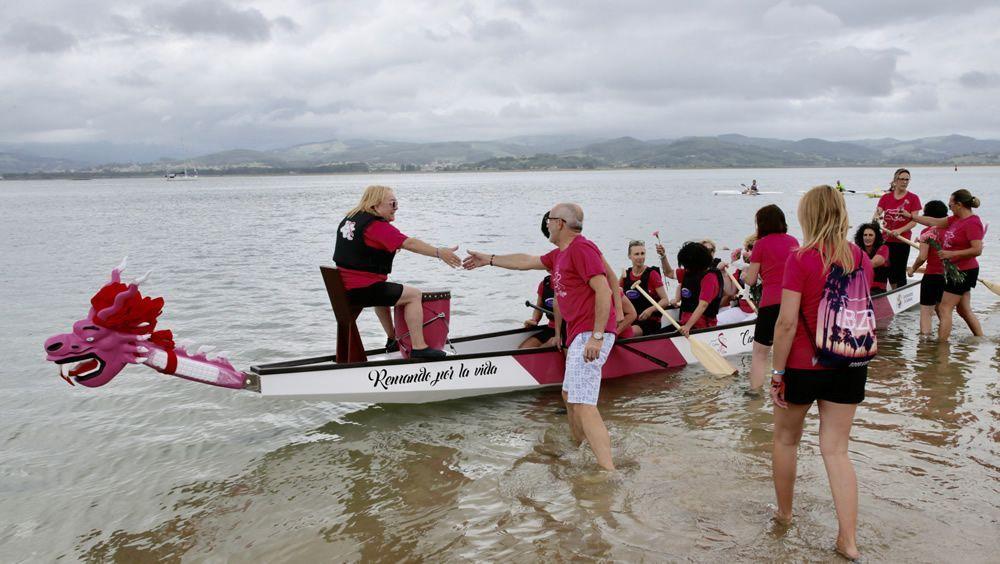 'Cantabria en rosa' rema contra el linfedema