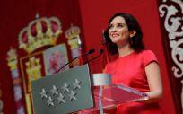 Isabel Díaz Ayuso en la toma de posesión como presidenta de la Comunidad de Madrid. (Foto: Comunidad de Madrid)