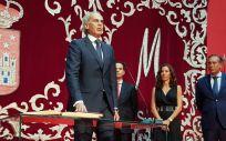 Enrique Ruiz Escudero jura su cargo como consejero de Sanidad de la Comunidad de Madrid (Foto: ConSalud)