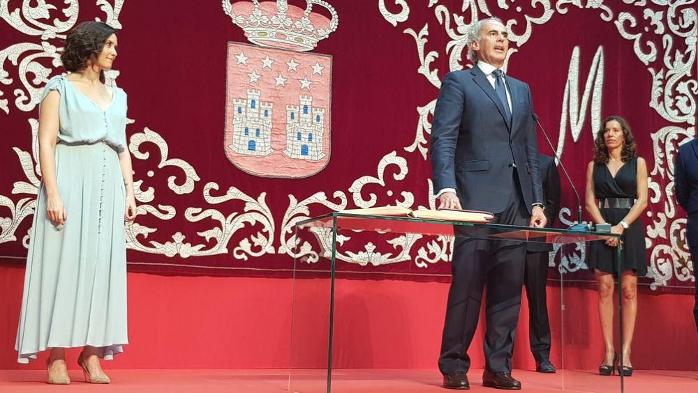 Enrique Ruiz Escudero, toma posesión como consejero de Sanidad de la Comunidad de Madrid (Foto: ConSalud.es)