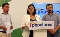 Rueda de prensa del PP de Sevilla (Foto. PP Sevilla)