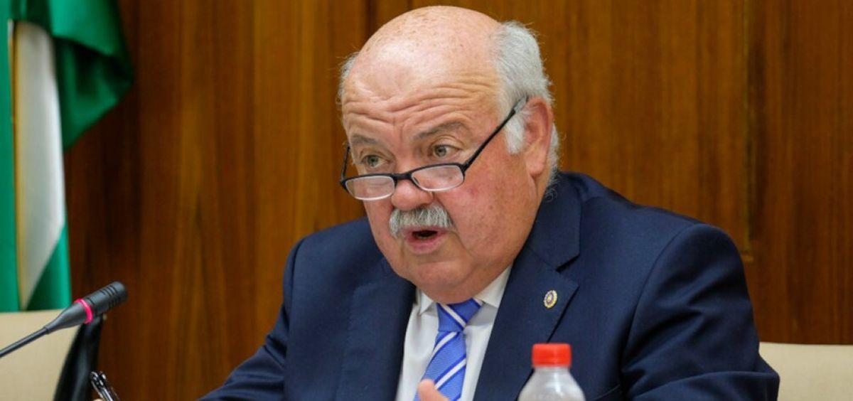 Jesús Aguirre, consejero de Salud y Familias de la Junta de Andalucía (Foto. Junta de Andalucía)