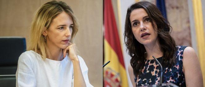 Cayetana Álvarez de Toledo e Inés Arrimadas, portavoces de PP y Ciudadanos en el Congreso de los Diputados (Foto: Flickr PP y C's)