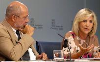 Francisco Igea y Verónica Casado, vicepresidente y consejera de Sanidad de la Junta de Castilla y León (Foto: JCYL)