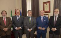 Junta directiva del Consejo Andaluz de Colegios de Médicos (Foto: CACM)