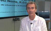 Fernando Simón, director del Centro de Coordinación de Alertas y Emergencias Sanitarias (CCAES). Foto: @sanidadgob