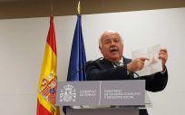 El consejero Jesús Aguirre ofrece nuevos datos, tras la reunión en el Ministerio de Sanidad. (Foto: ConSalud)